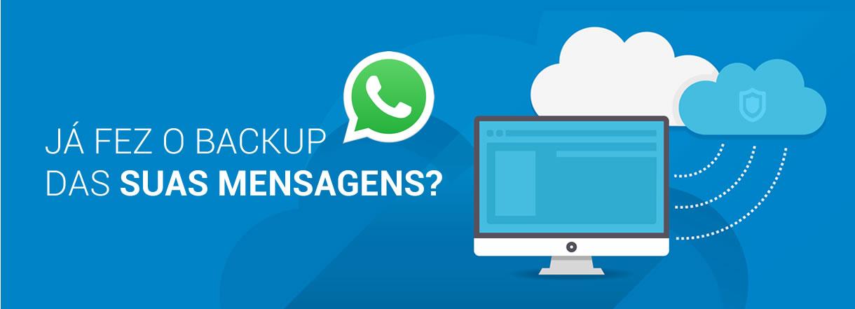 [Mensagens no WhatsApp poderão ser apagadas para sempre na 2ª feira]